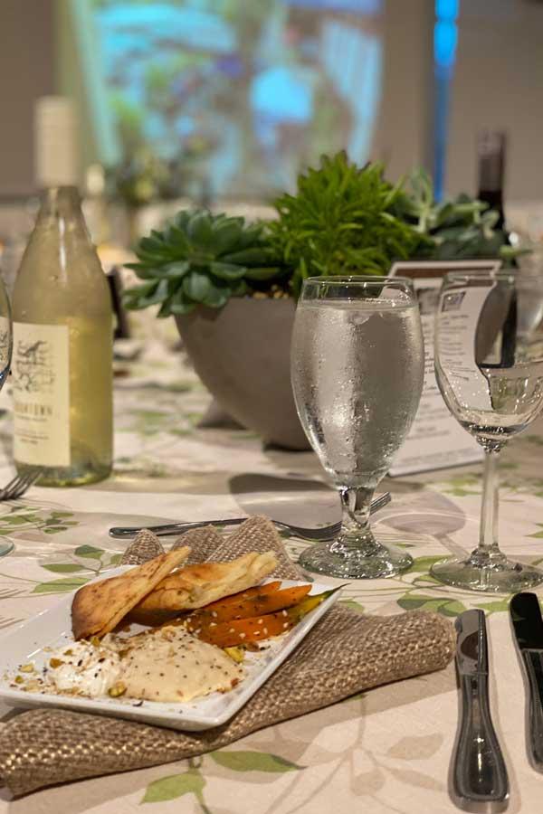 Corporate Events - elegant table setting