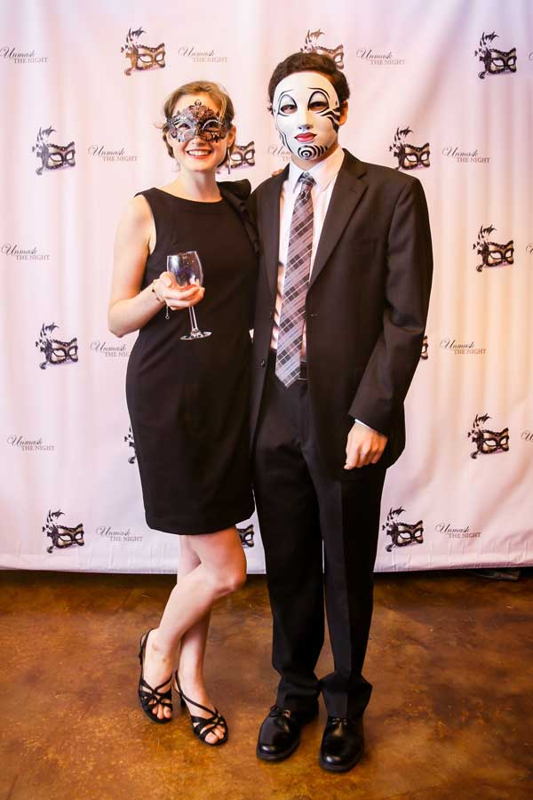 Social Events - Young couple at a costume ball
