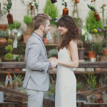 Intimate Weddings - Exchanging vows