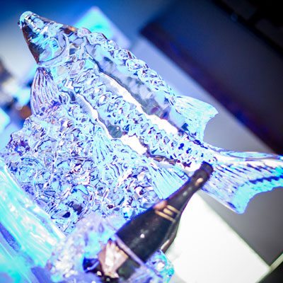Decor - ice sculpture